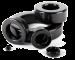 Black epoxy coating powder resistors varistors capacitors powder cores toroids