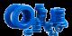 Blue epoxy coating powder resistors varistors capacitors powder cores toroids