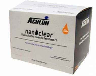 NanoClear Fluxophobic Stencil Treatment Wipes