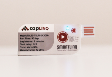 Smartlinq Single-Use 90 Day USB Temperature Data Logger - Stopped for Data Extraction