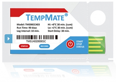 TempMate S1 Single-Use 90 Day USB Temperature Data Loggers