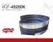 VCF-4S200K | LINQSTAT  4 mil - 200,000 Ω/sq Antistatic film