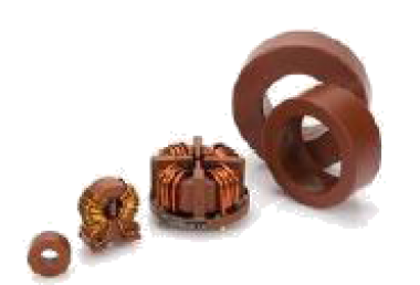 brown insulating coating powder for powder cores and coils
