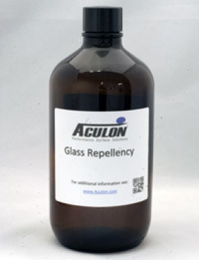 Glass Repellency Treatment