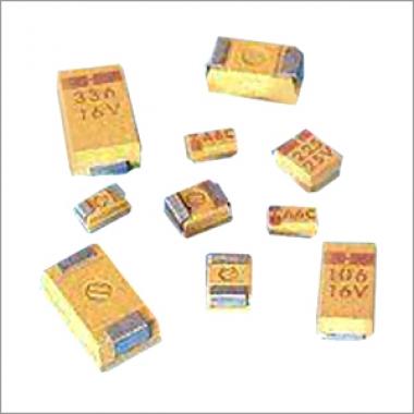 Gold epoxy coating powder chip capacitors