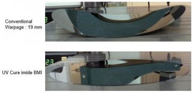Negative Type Solvent Developed Photosensitive Modified Polyimide Stress Buffer Coating
