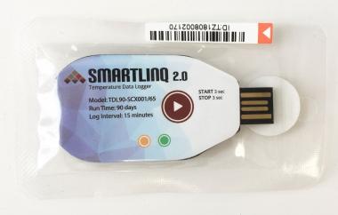 Smartlinq v2.0 Single-Use 90 Day USB Temperature Data Loggers