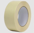5 mil Die Cut Crepe Paper Tape Rubber Adhesive Single Sided   Discs