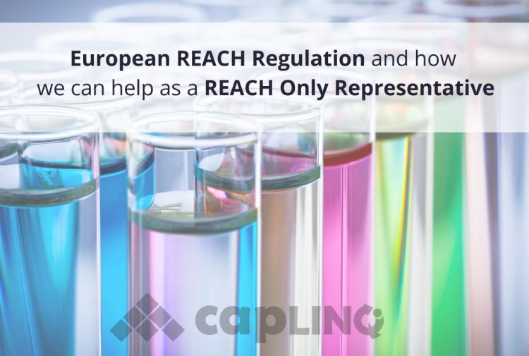 Reach regulations and reach only representative caplinq