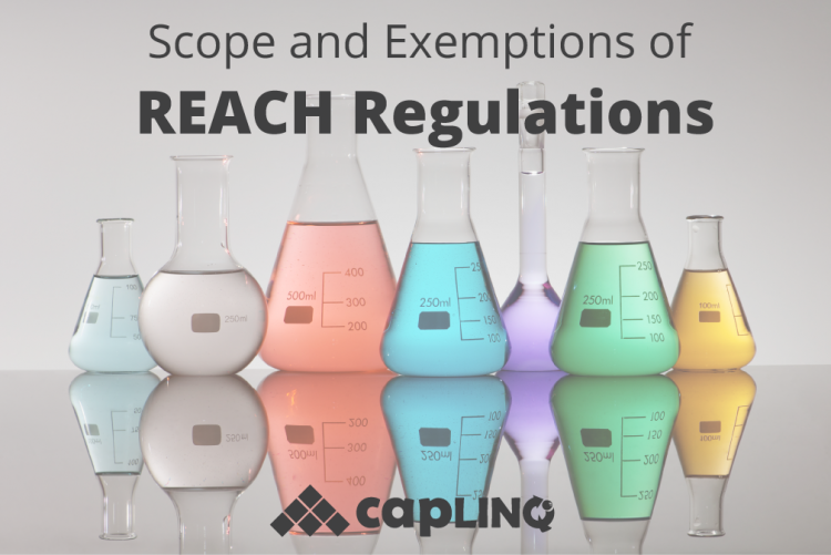 Scope and Exemptions of REACH Regulations