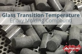 Glass Transition Temperature (Tg) of Epoxy Molding Compounds