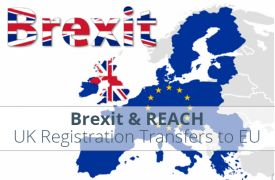 Brexit: REACH Substance Registration transfer from UK manufacturer/importer to EU Only Representative