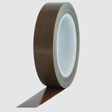 3 mil PTFE Glass Cloth Tape Silicone Adhesive Single Sided
