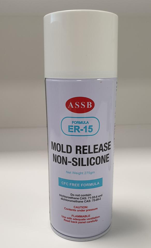 ASSB ER-15 Carnauba Wax Mold Release Spray | ER-15