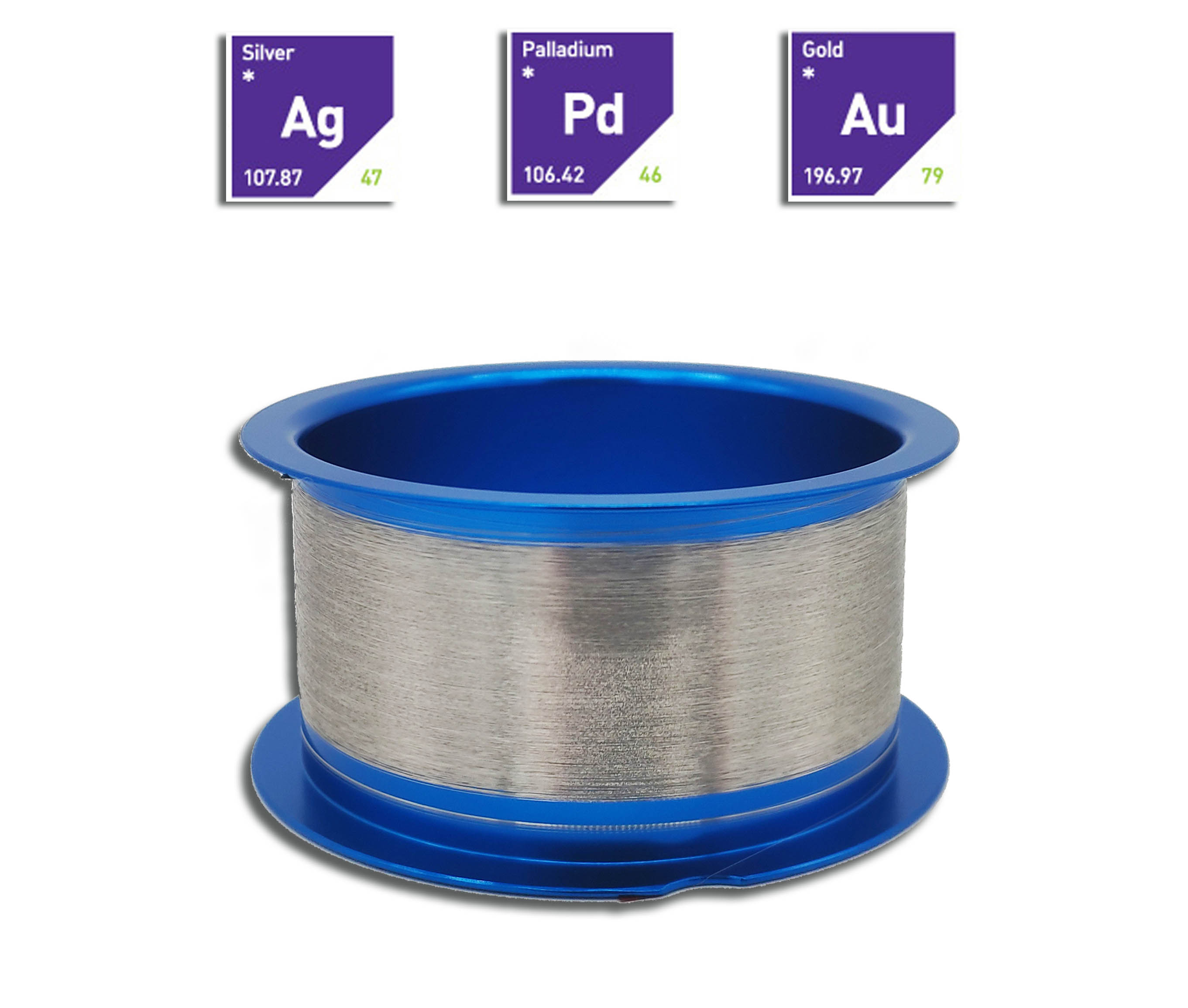 Ag96 Silver Bonding wire | Linqalloy