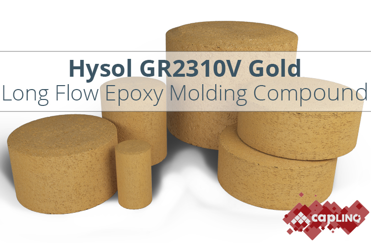 GR2310V Gold Long Flow Epoxy Mold Compound