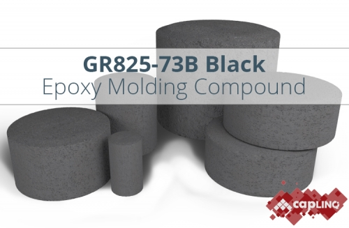 GR825-73B Black Epoxy Mold Compound for SOIC14