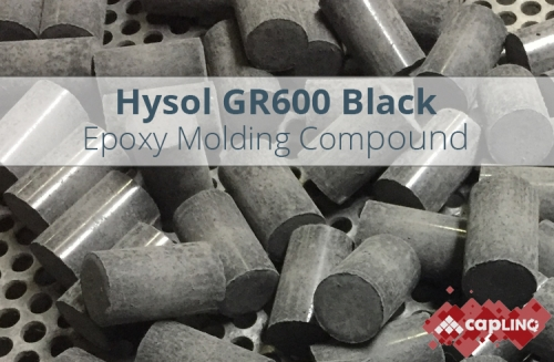 GR600 Black Epoxy Mold Compound Pellets