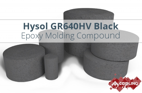GR640HV Black Epoxy Mold Compound Pellets