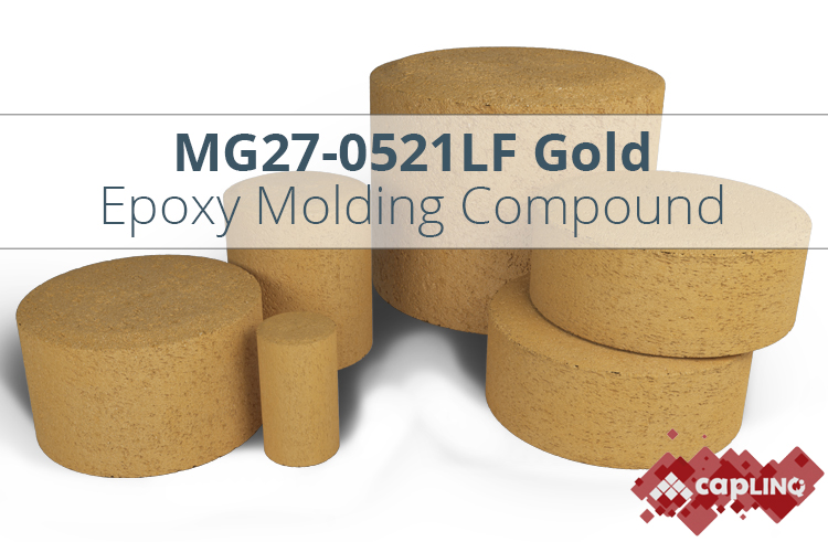 MG27F-0521LF Gold Epoxy Mold Compound