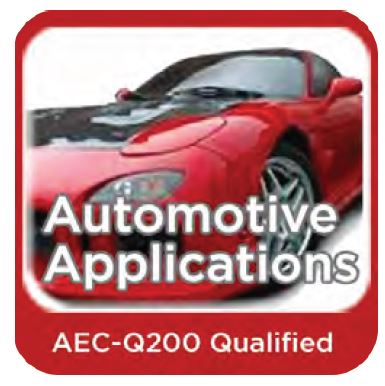 Meets AEC-Q200 Specification