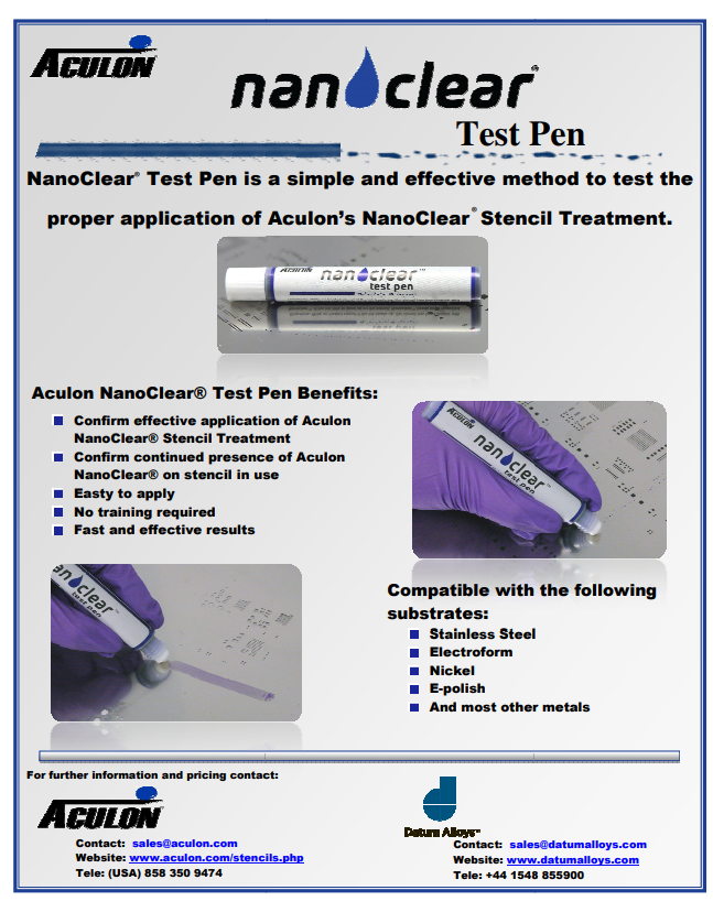 NanoClear Test Pen