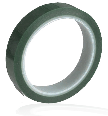 single roll polyester tape with silicone adhesive