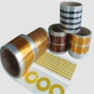 1 mil Die Cut Polyimide Tape Silicone Adhesive Single Sided | Discs