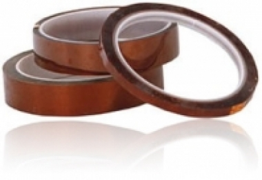 1-mil Polyimide (Kapton) Tape Ultra-Thin Silicone Adhesive Double-Sided