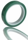 2-mil Green Polyester Tape (PET) with Silicone Adhesive