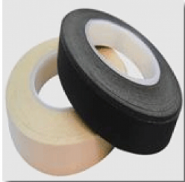 7 mil Black Acetate Cloth Tape Rubber Adhesive Single Sided