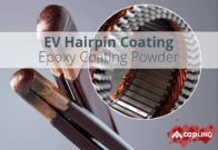 Epiform F-6975 Grey Coil Insulation Epoxy Coating Powder