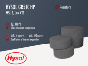 Hysol GR510-HP | Black Epoxy Mold Compound