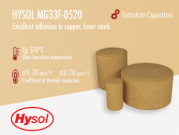 Hysol MG33F-0520 | Gold Epoxy Mold Compound