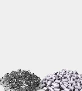 Clear and White Epoxy Molding Compound Pellets