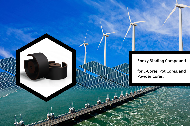 Epoxy bind resins are used in technology for renewable energy