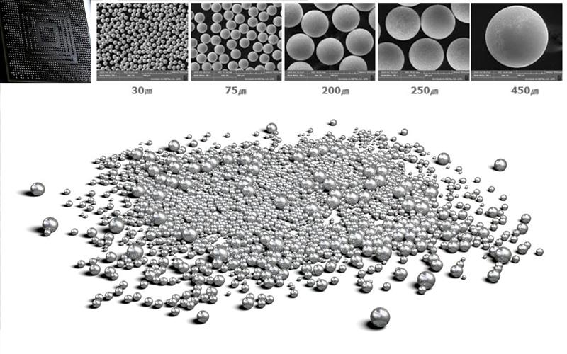 Solder Spheres | Soldering Materials | CAPLINQ Corporation