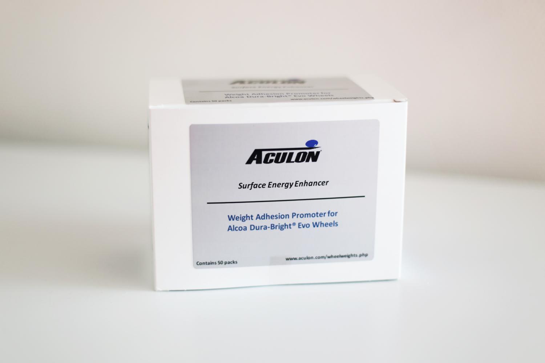 Wegmann automotive tests Aculon's Surface Energy Enhancer Wipes on Alcoa Dura-Bright™ wheel balancing