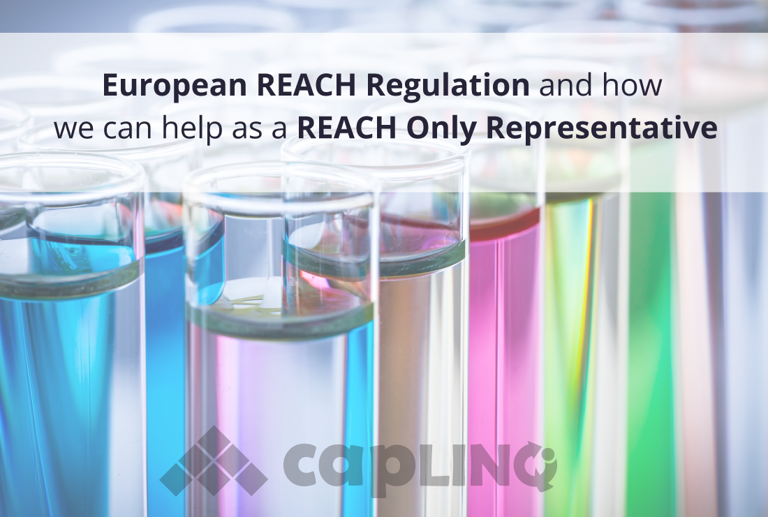 European REACH Regulation and how we can help as a REACH Only Representative