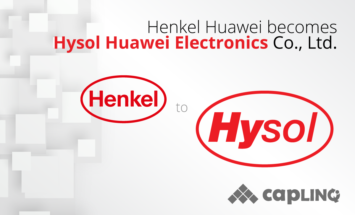 Henkel Huawei sells Epoxy Mold Compound factory and Hysol brand to Chinese conglomerate